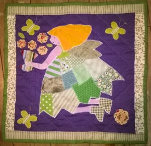 Hi I've just finished a flower fairy quilt form my patchwork fairy range wp_20161107_18_22_13_