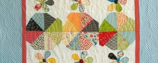Apple Slices Baby Quilt