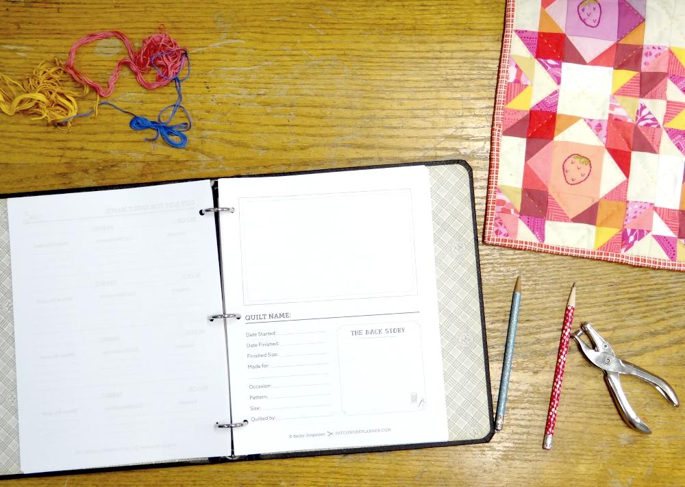 planner on desk 1