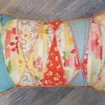 Tucks of Color Pillow