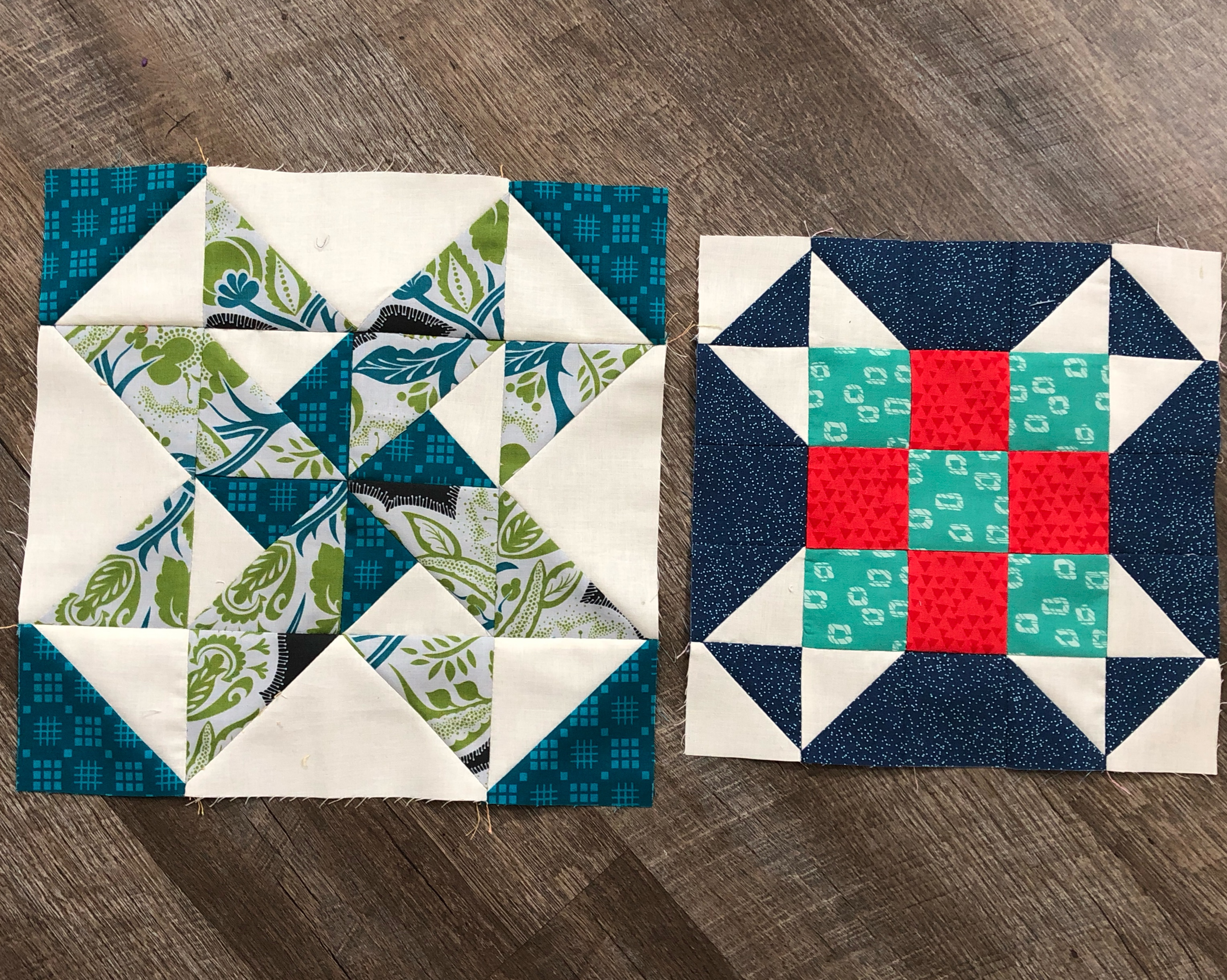 Finally! Got my center star block done. I really love this block. I'm trying to decide if I sh