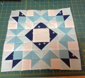 How did your fabric choices work on the first block? I'm pretty excited about my decision to w