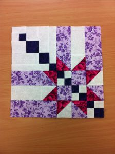 this block design attracted lots of attention from quilty friends. I look forward to trying out the