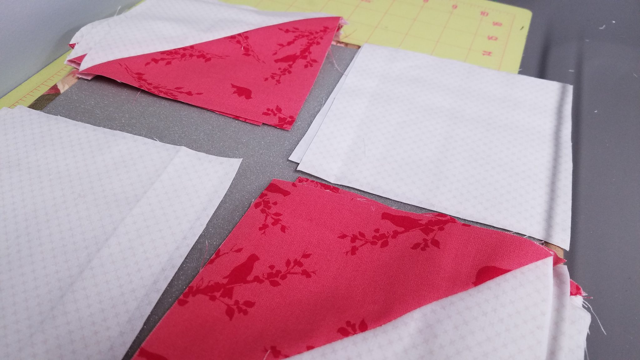 I've been sewing a bunch the last little bit trying to get 3 quilts sewn together for a fun we