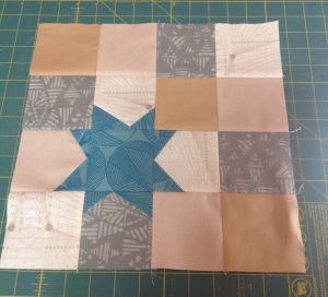 This block was so much fun to make. I always have trouble with improv – I'm more of a ru