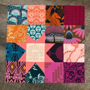 This block is so fun! I had a great time fussy cutting some of these blocks.IMG_4394