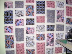 The top is finished…now on to the quilting. What a fun weekend; can't wait to do it agai