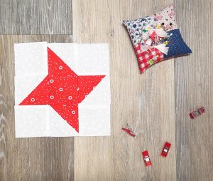 here is mine…. still need to sew up a bunch more!nine patch star quilt block 2-1