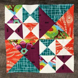 My August block! I love this block! I specifically love how awesome it would look in a whole quilt&#