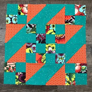 Here's my Sunny Day block! Love this one… one thing to make a note of is how your corner