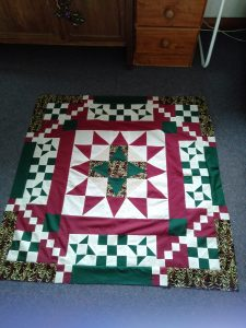 Thanks so much Becky I really enjoyed making this quilt top and seeing other members looking forward