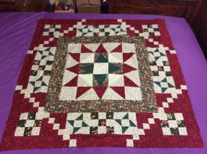 Here is my mystery quilt top. So much fun we had, n Now what do I do , the churn dash square or noma