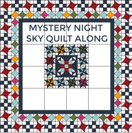 MYSTERY NIGHT SKY QUILT ALONG